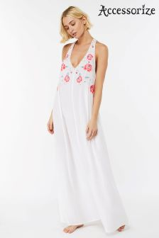 Accessorize White Beachcomber Wow Maxi Dress