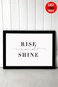Rise And Shine by Honeymoon Hotel Framed Print