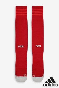 جوارب مباراة العودة نادي Bayern Munich لكرة القدم أحمر بكم 19/20 طول من adidas