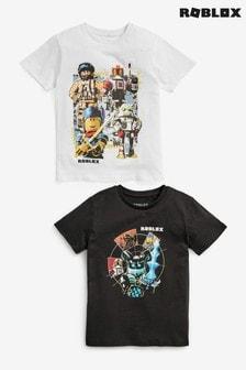 2 Pack Roblox T-Shirts (3-16yrs)