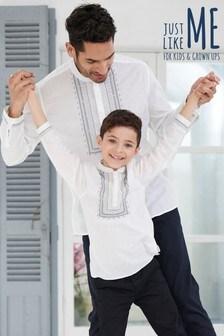Caftan coordonné pour toute la famille pour homme