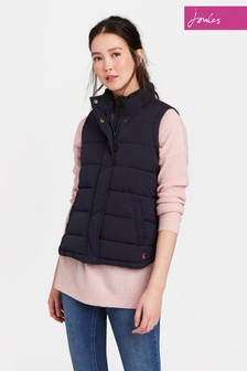 Joules Navy Eastleigh Padded Gilet
