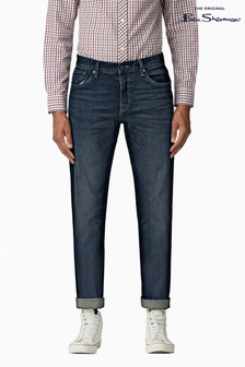 Ben Sherman Blue Slim Stone Wash Jean