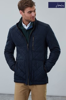 Joules Longer Length Quilted Jacket