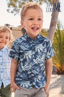 Leaf Print Shirt (3mths-7yrs)