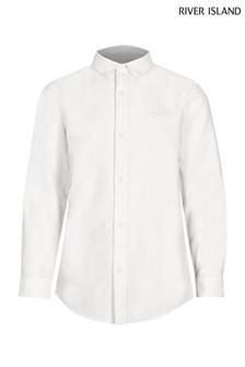 River Island White Oxford Shirt
