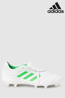adidas White/Green Virtuso Copa FG