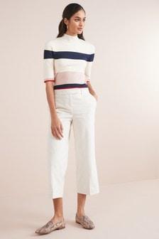 Sztruksowe spódnico-spodnie