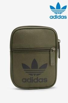 adidas Originals Khaki Trefoil Festival Bag