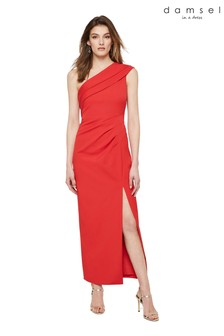 Damsel In A Dress Red Samira Maxi Dress