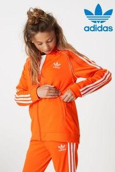 adidas Originals Orange Superstar Track Top