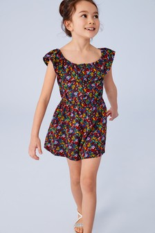 92a3d2a9b9 Ditsy Print Playsuit (3-16yrs)