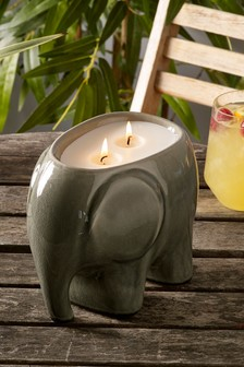 Desert Sands Ceramic Citronella Candle