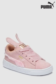 Puma® Pink Bunny Suede Infant Trainer