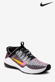 Nike Gym Black/Pink Air Zoom Fearless Flyknit 2 Trainers