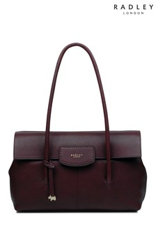 Radley London Red Beeches Large Tote Shoulder Flapover Bag