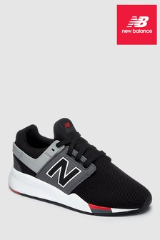 New Balance Black 247 Youth Trainer