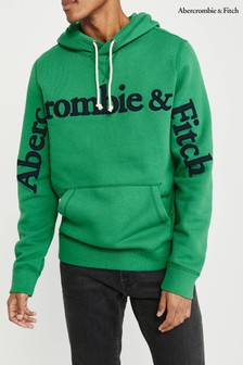 Abercrombie & Fitch Green Sweat Top