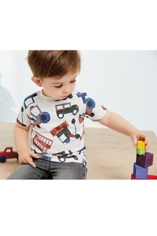 All Over Print Tractor T-Shirt (3mths-7yrs)