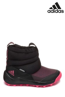 adidas Pink/Black RapidaSnow Junior Boots