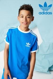 adidas Originals Blue Short Sleeve Cali T-Shirt