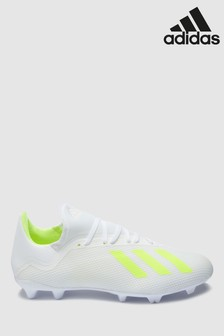 adidas White/Green Virtuso X FG