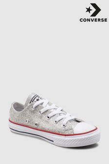 Converse Youth Grey Metallic Chuck Ox