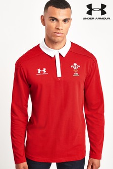 Under Armour Wales WRU Vintage Polo