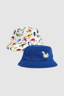 Dino Fisherman's Hats Two Pack (Younger)