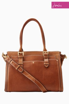 Joules Tan Hathaway Leather Bag