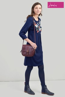 Joules Alison Long Sleeve Woven Dress