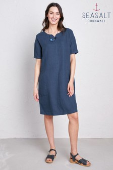 Seasalt Blue Coastal Retreat Dress
