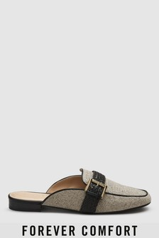Buckle Detail Mules