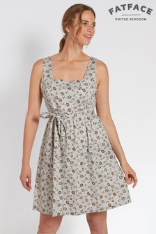FatFace Ivory Serena Trailing Floral Dress