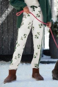 Mistletoe Woven Pyjama Pants