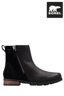 Sorel® Black Emelie Zip Boots