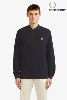 Fred Perry Honeycomb Textured Pique Poloshirt