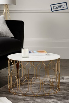 Ella Gold Coffee Table