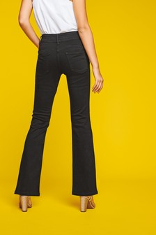 boot leg cut hipster NEW NEXT Ladies Girls dark blue jeans size 16 regular