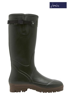 Joules Green Neoprene Everglade Lined Welly