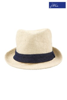 Joules Natural Trilby Hat