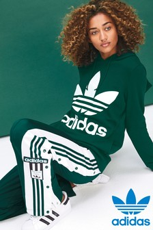 adidas Originals Collegiate Green Trefoil Hoody