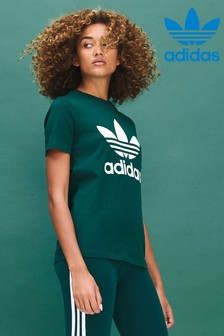 adidas Originals Collegiate Green Trefoil T-Shirt