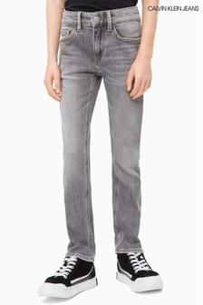 Calvin Klein Jeans Boys Slim Grey Comfort Jean