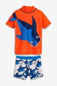 Shark Sunsafe Two Piece Set (3mths-7yrs)