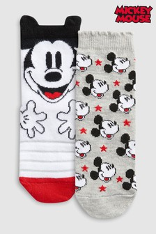 Mickey Mouse™ Socks Two Pack (Older)