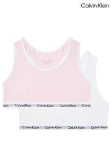Calvin Klein Pink Modern Cotton 2 Pack Bralette