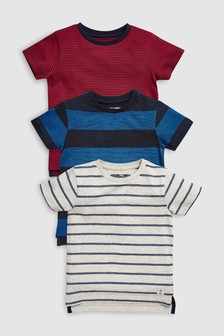 Stripe T-Shirts Three Pack (3mths-7yrs)
