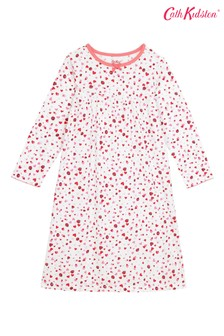 Cath Kidston® Kids Mini Lovebugs Long Sleeve Jersey Nightie