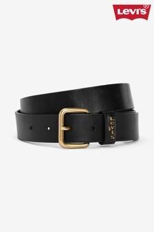 Levi's® Black Logo Tab Belt
